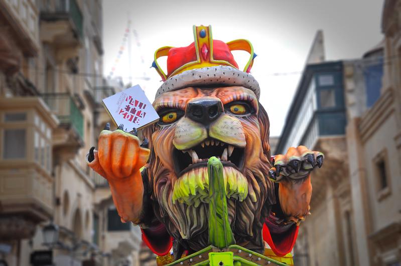 King Leo in the 2018 European Capital of Culture. 2018.