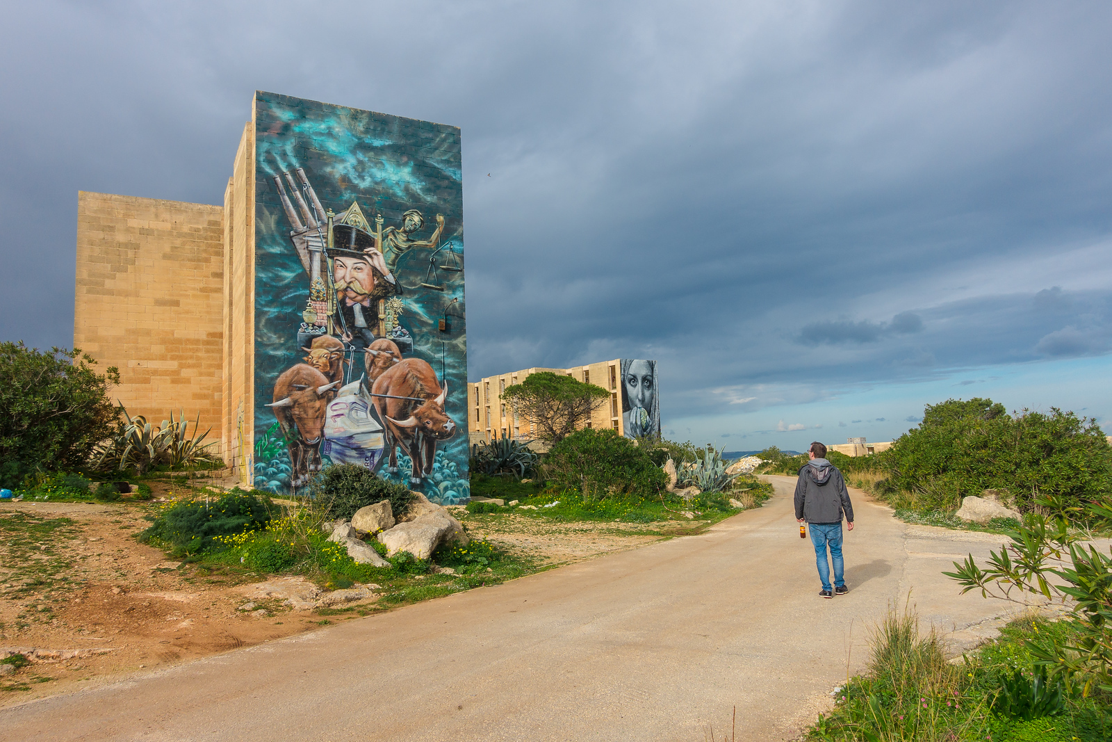 Quirky and Unique Things to Do in Malta - Street Art in Pembroke