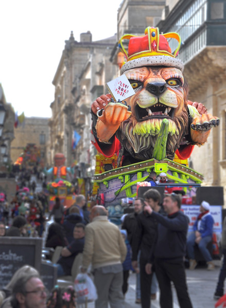King Leo at Carnival. 2018.