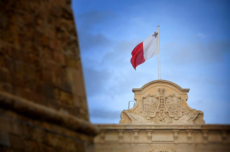 Maltese Flag. 2018.