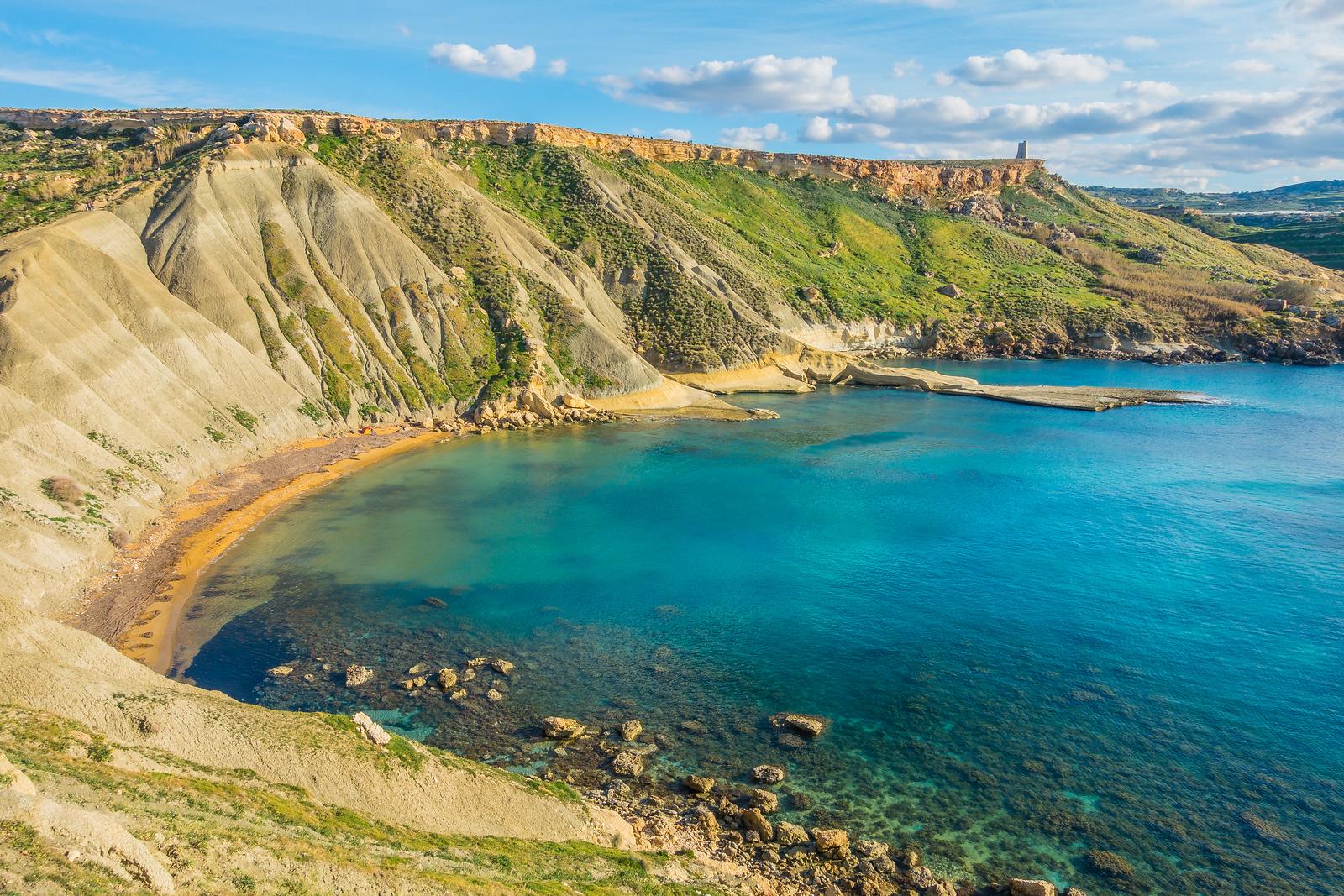 Things to do in Malta & Gozo - Ghan Tuffieha Bay