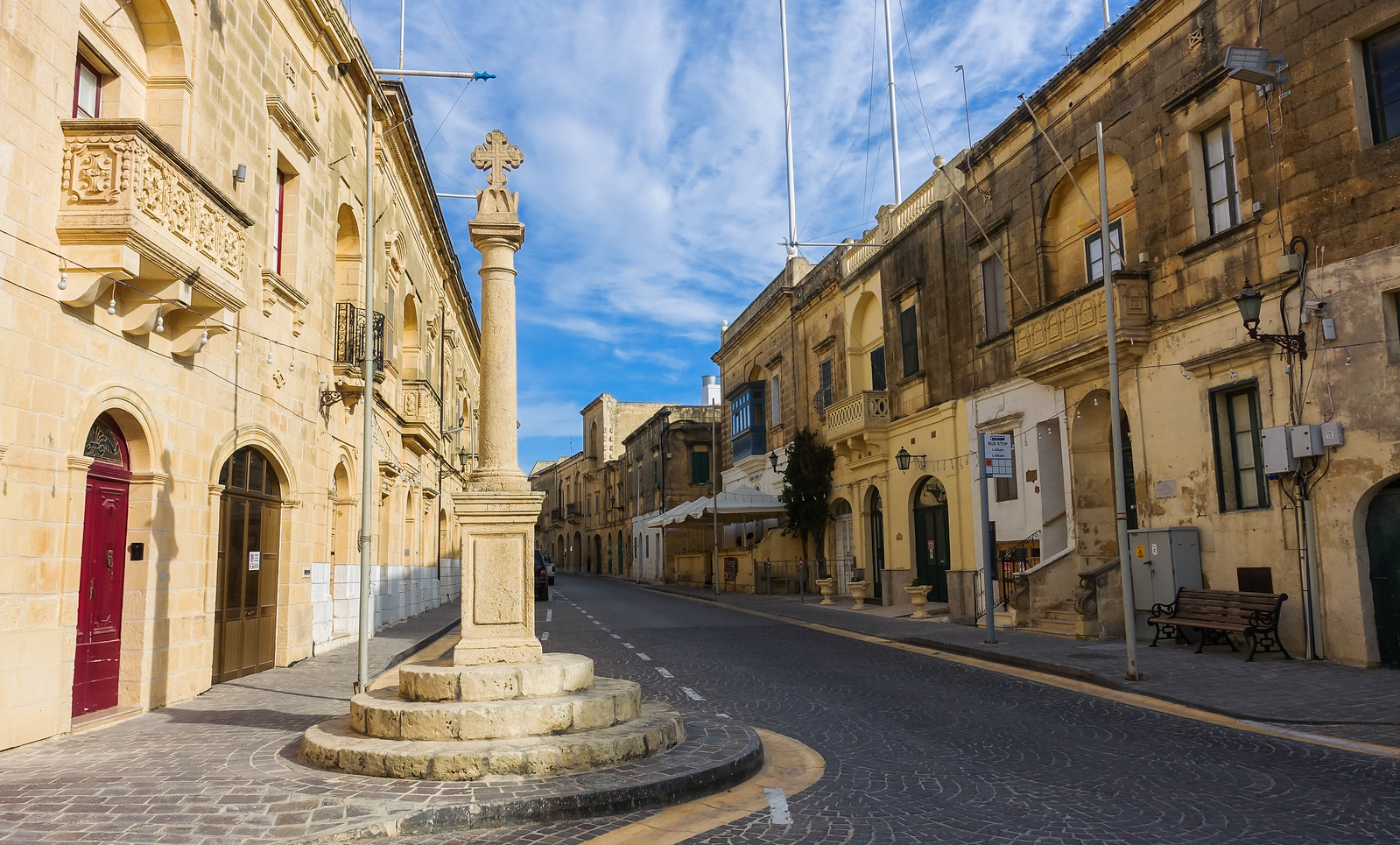 Gharb Village in Gozo