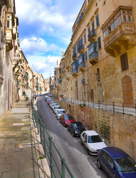 Liesse Street in Valletta. 2018.