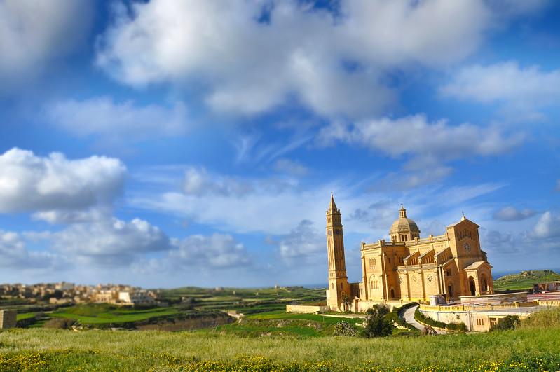 Ta' Pinu Basilica in Gozo. 2018.