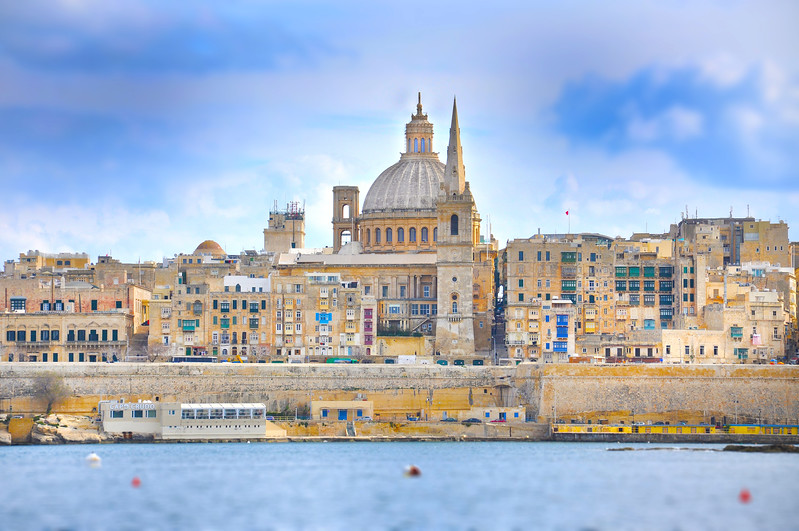 Basilica of Our Lady of Mount Carmel, Valletta. 2018.