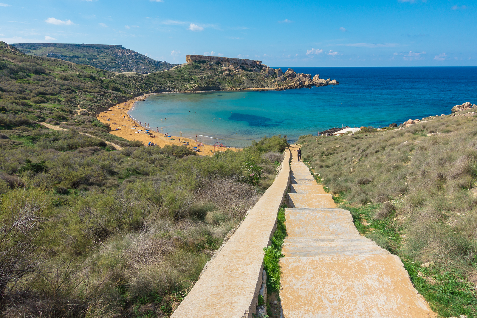Malta Pictures - Ghan Tuffieha Bay