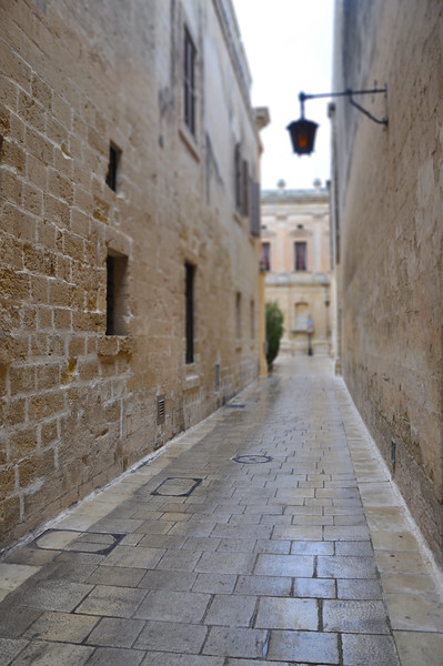 Stone Alley in Mdina. 2018.