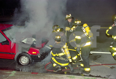 Working Car Fire