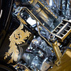 Water cooled Harley Davidson Knucklehead. Ron Weber, Dalton Walker Petruzzi, Fresno CA