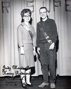 Judy Mantooth, Kenny Redmond (Wittiest - 1964)