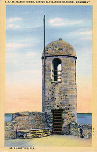 Watch Tower, Castle San Marcos National Monument