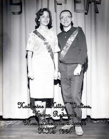 "Katherine ""Kitty"" Walters, Kenny Redmond (Most Likely to Succeed - 1964)"
