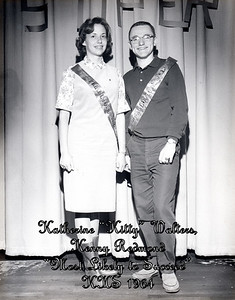 """Katherine """"Kitty"""" Walters, Kenny Redmond (Most Likely to Succeed - 1964)"""