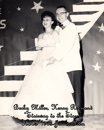 Becky Miller, Kenny Redmond (Junior Prom - 1963)