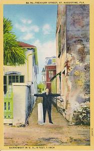 Treasury Street, St. Augustine, Florida