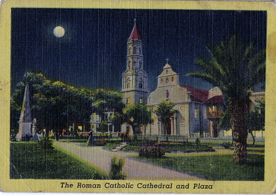 The Roman Catholic Cathedral and Plaza