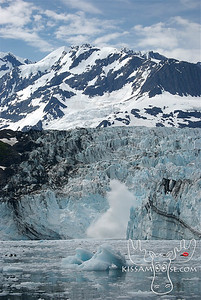 Surprise Glacier Calving