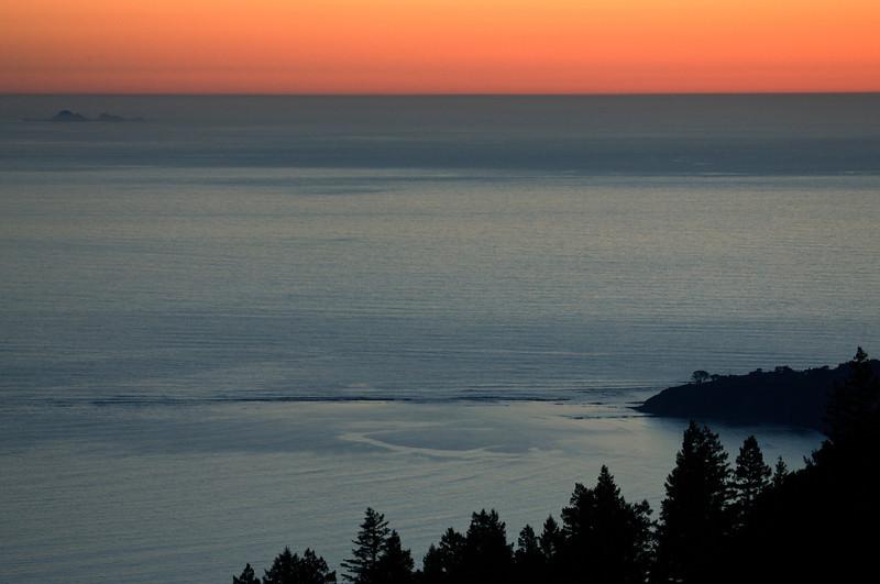 Farallon Islands, Bolinas, Sunset