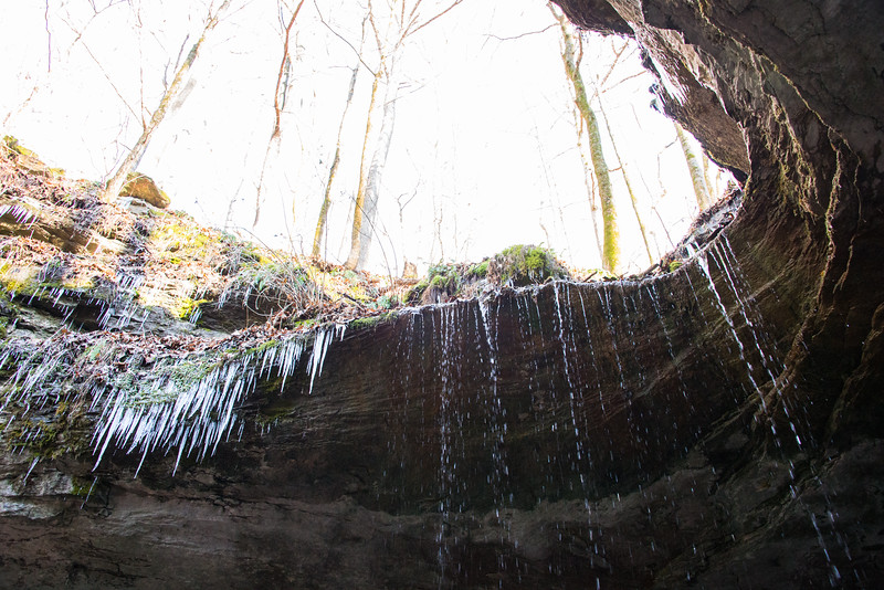 Winter at Mammoth Cave