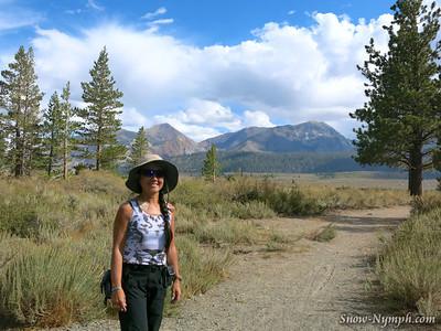 2013 (Sept 10) Mammoth Creek Walk, Hayden Cabin