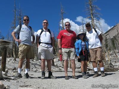 2013 (Sept 13) McCloud Lk/Horseshoe Lk loop and Mountainfilm on Tour