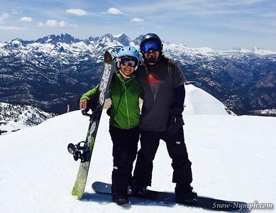2014 (May 1-6) Mammoth Mountain with Scott + Mammoth Mini