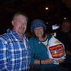 2017-11-15   Matthew and Kathy. She won a turkey playing Bingo