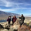 2018-02-02  Hiked Scattered Bones Pk and Cactus Flat Peak (5,683') with Barbara (HartHiker) and Sooz (TrailTrekker) - (more photos at  )