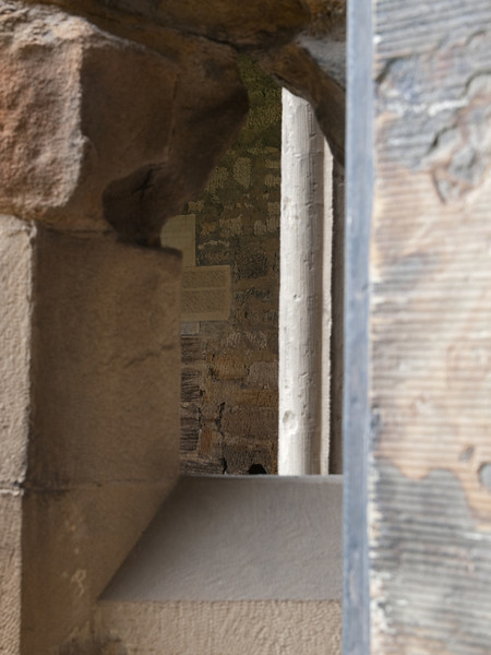 From the cloisters to the cloisters through a small window