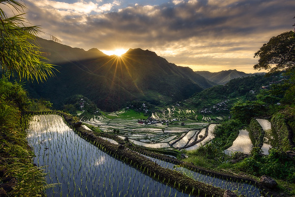 A gorgeous view of a remote Philippine Village