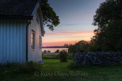 Sommerkveld ved Hasselgården