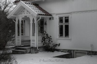 Sommerhus om vinter'n