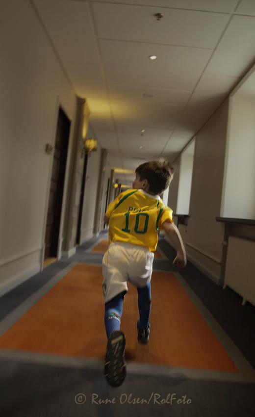 Løping i korridorene