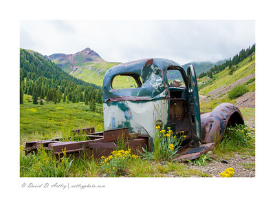 Old Truck near Animas Forks Ghost Town, CO