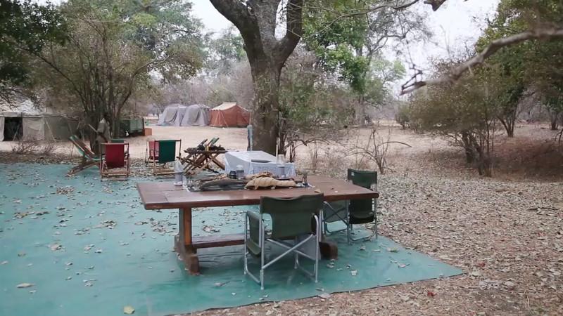 Camp Mwinilunga at Mana Pools, Zimbabwe