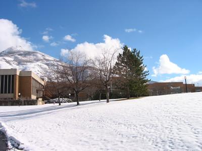 Weber State University winter