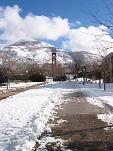Winter and the bell tower