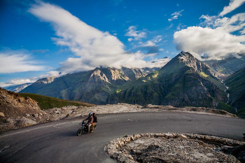 Rohtang pass - Leh to Manali Journey, India