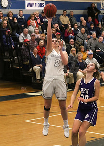 no.2, Lola Mullaney Manasquan girl's basketball v/s Rumson- Fair Haven in Manasquan, NJ on 3/5/19. [DANIELLA HEMINGHAUS | THE COAST STAR]
