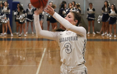 no.3, Kate Leturgez Manasquan girl's basketball v/s Rumson- Fair Haven in Manasquan, NJ on 3/5/19. [DANIELLA HEMINGHAUS | THE COAST STAR]