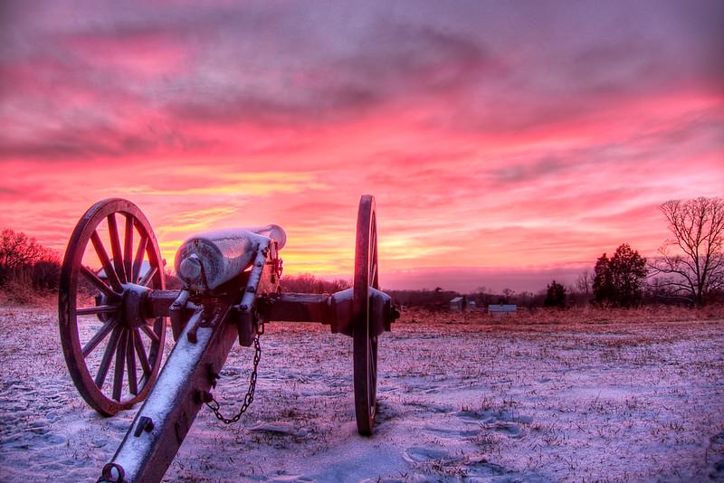 Sunset in Manassas, VA