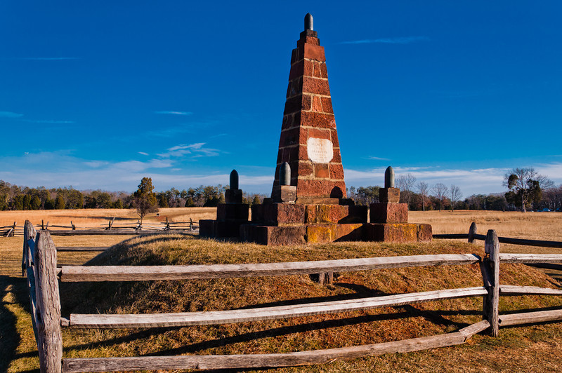 Memory of Patriot's Memorial, Manassas Barttlefield, Virginia