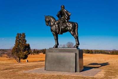 Stonewall Jackson Monument, Manasas Battlefield, Virginia