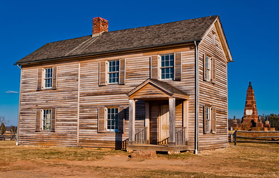Henry House, Manassas Battlefield, Virginia