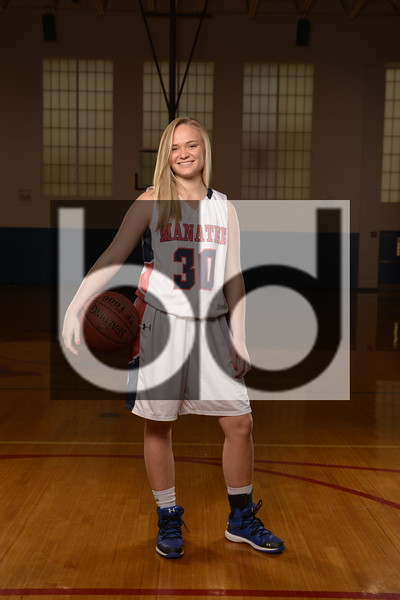 Girls Basketball Portraits
