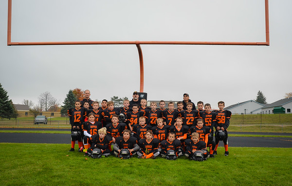 Mancelona Pop Warner Football 2015