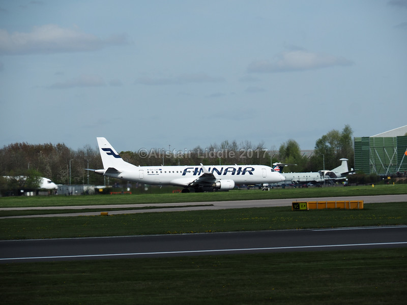 Finnair Embraer ERJ-190 OH-LKH flight AY934 to Helsinki