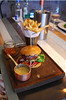 August 2011: A succulent burger served at Smoak Bar and Grill near Manchester's gay village.