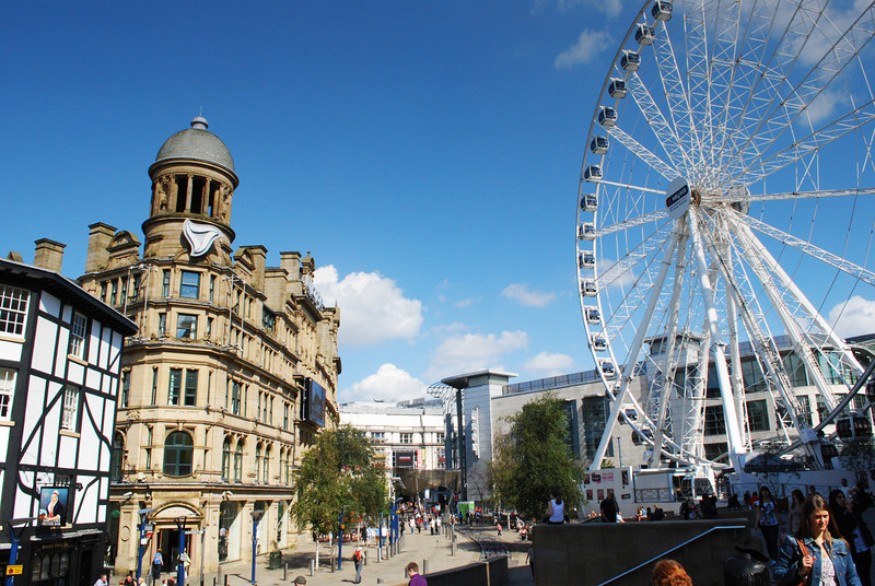 August 2011: The Wheel of Manchester in Exchange Square, a short walk from the gay village, is due to be upgraded and perhaps relocated in spring 2012.