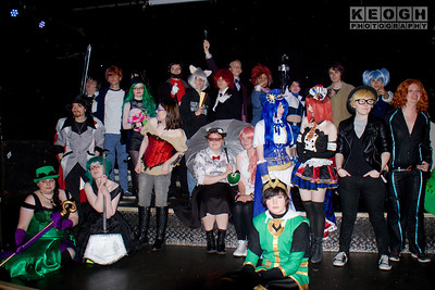 Cosplay, Cosplayers, Male, Female, Group Shot, Manchester Summer Mini Con, DC Comics, Marvel Comics, Anime, Film, TV, Video, Black, Fairytale, The Riddlers, Black Widow, Black, White, Red, Green, Gold, Blue, Purple